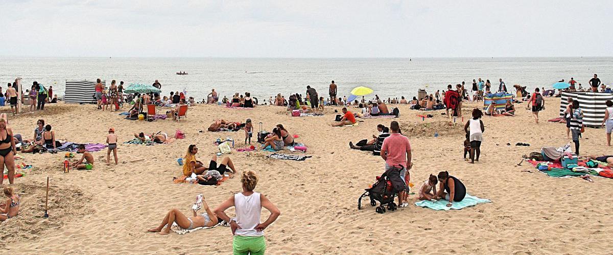 Strand Oostende | © VLIZ, Leontien De Wulf