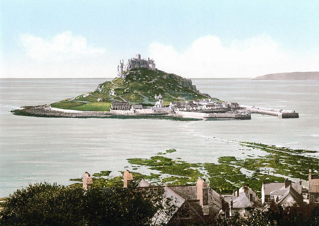 Saint Michaels Mount England | CC Library of Congress, Wikimedia Commons